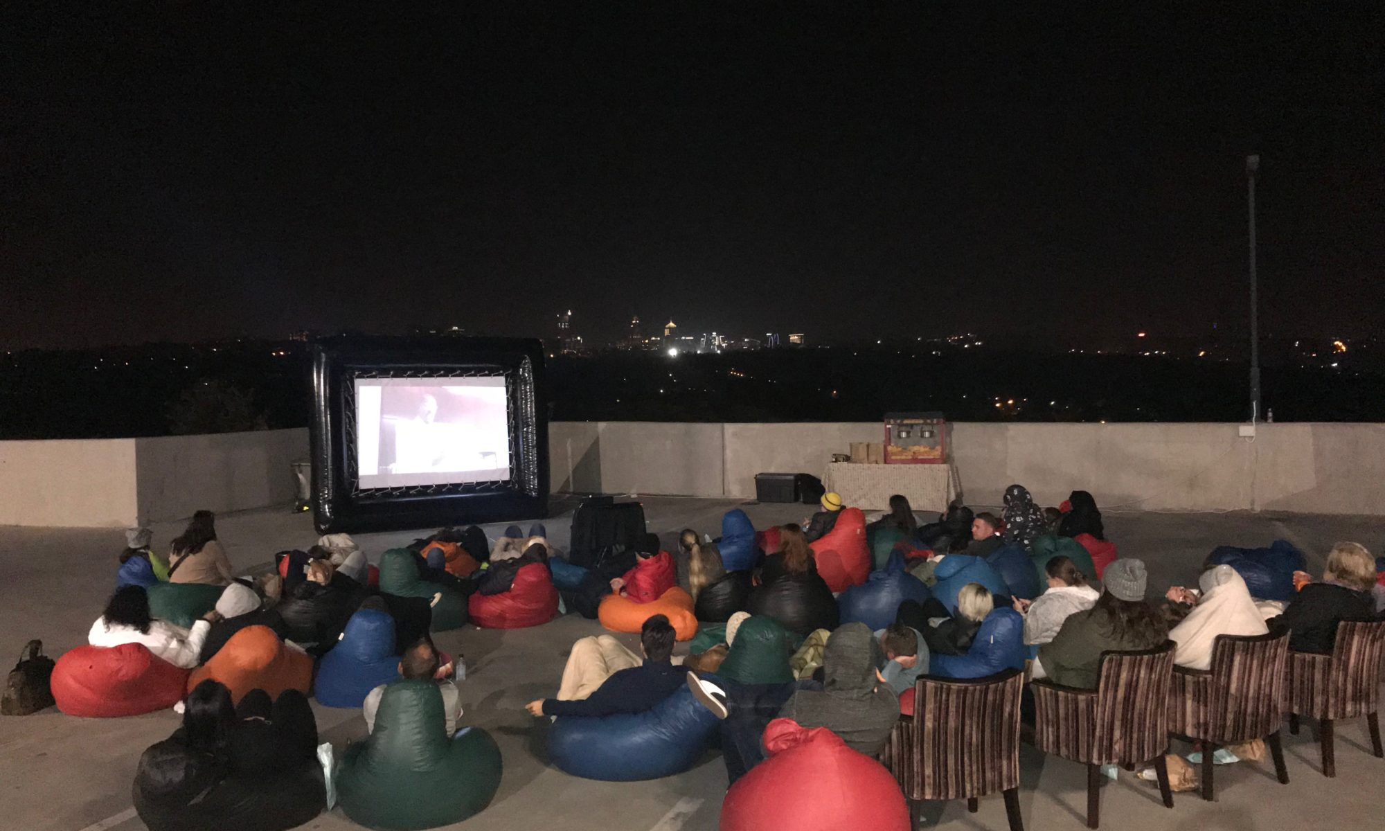 Outdoor Movie Night - Inflatable Movie Screen for Hire