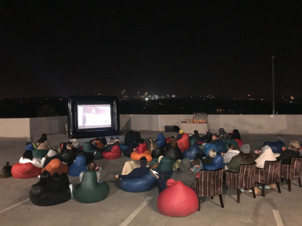 Outdoor Movie Night Inflatable Movie Screen For Hire